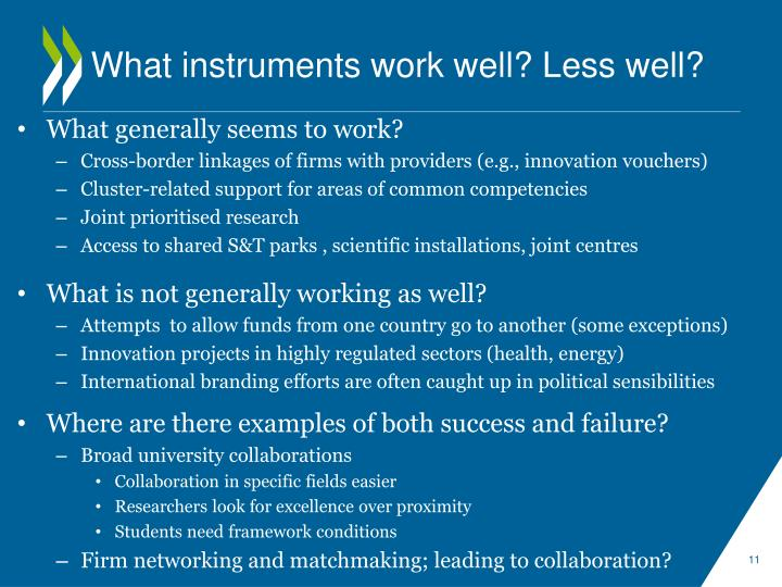 What instruments work well? Less well?