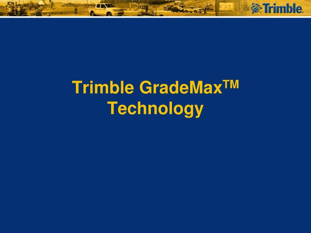 PPT - Introduction to Trimble GCS900 / Cat AccuGrade Version 12 2