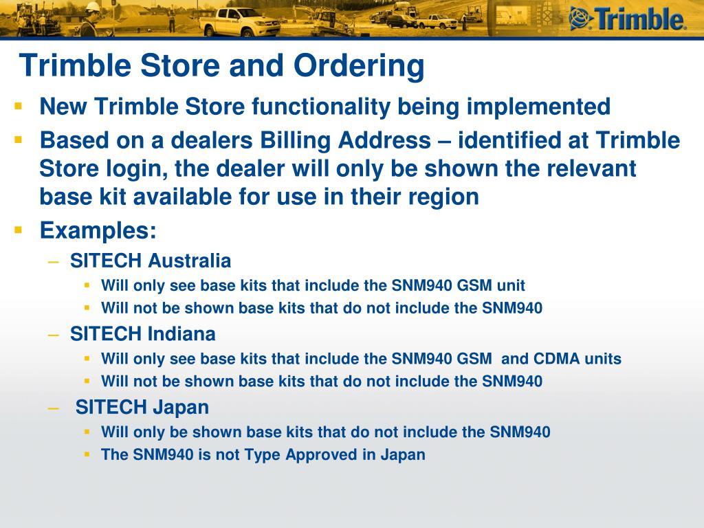 PPT - Introduction to Trimble GCS900 / Cat AccuGrade Version