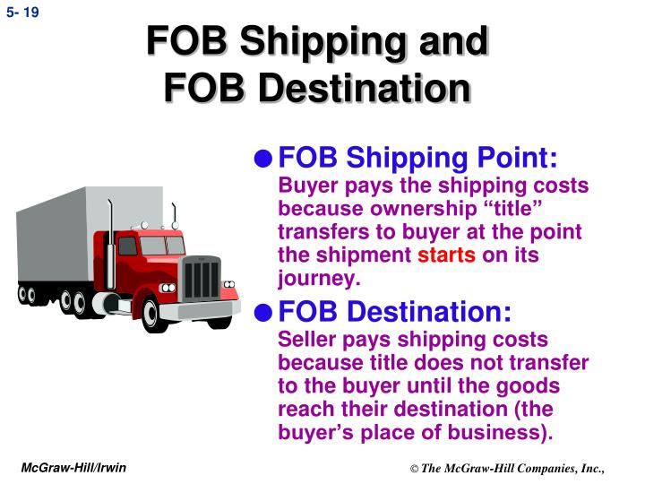 FOB Shipping and