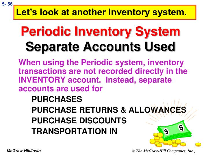 Let's look at another Inventory system.