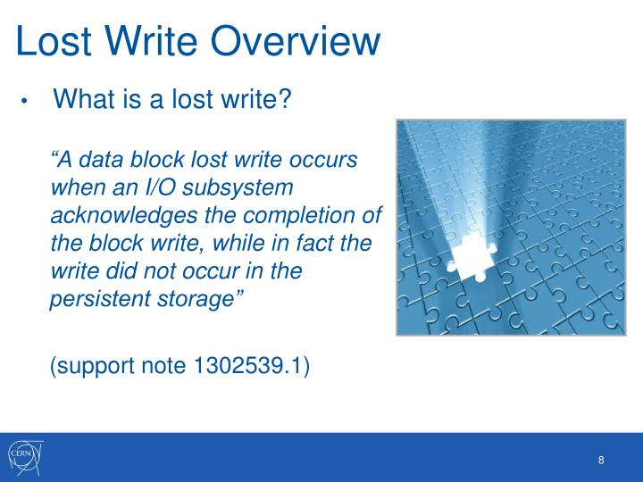Lost Write Overview