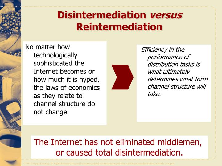 disintermediation and reintermediation by e business management essay The importance of disintermediation and reintermediation by e-business in the travel industry is discussed in the report, which has allowed an insight to the impact of this topic on business organisation such as travel agencies.