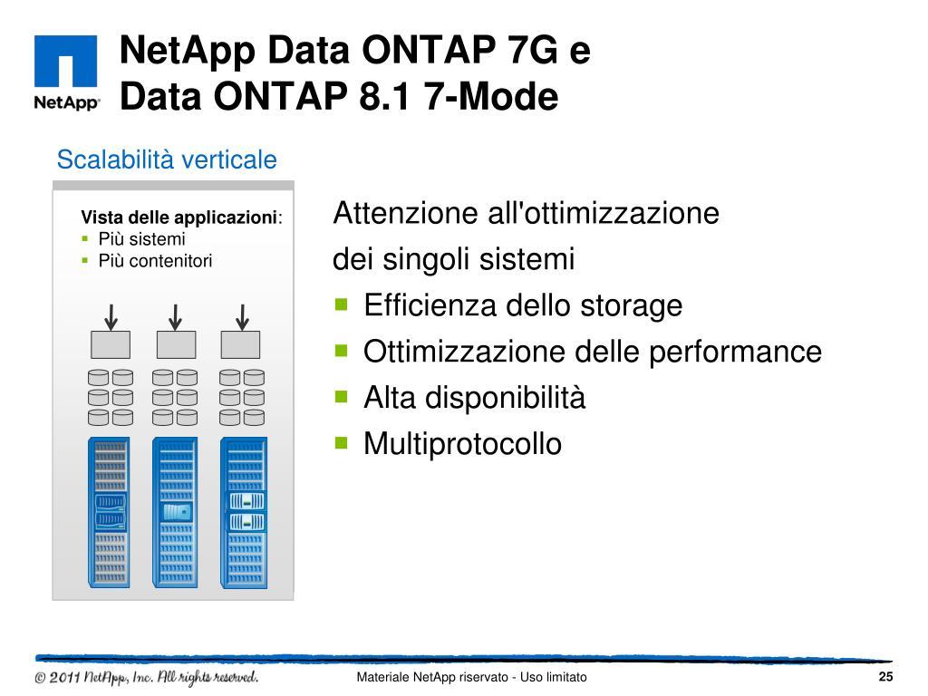 PPT - NetApp: NON solo storage Metro Cluster e Cluster Mode