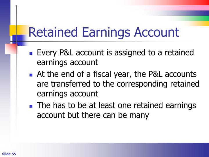 Retained Earnings Account