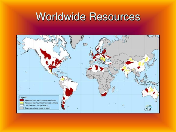Worldwide resources