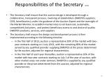 responsibilities of the secretary cont1