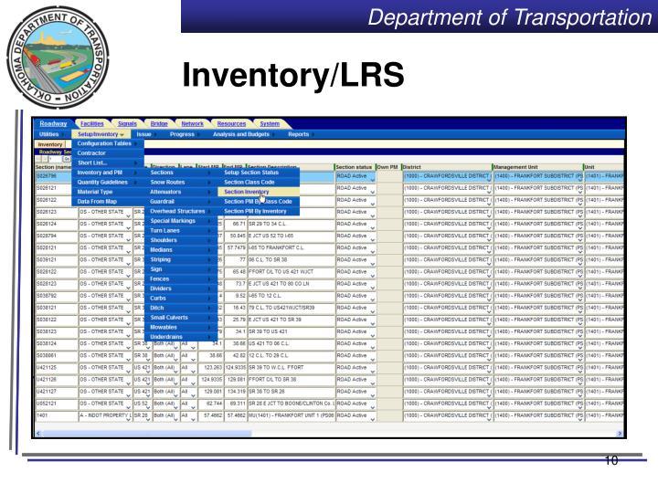 Inventory/LRS