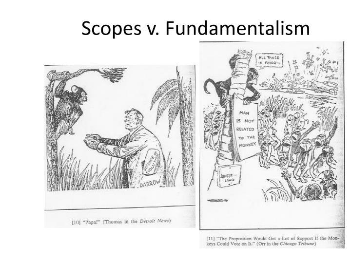 Scopes v. Fundamentalism