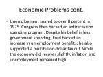 economic problems cont