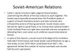 soviet american relations