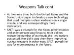 weapons talk cont