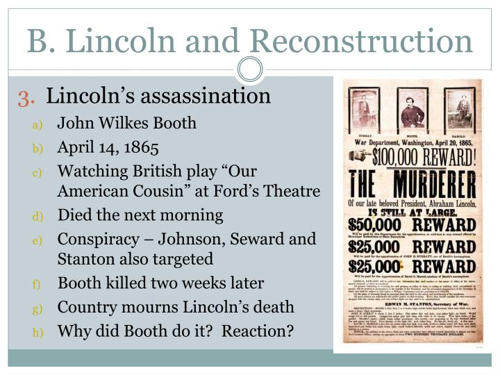 why booth killed lincoln