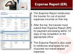 expense report er
