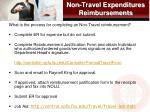 non travel expenditures reimbursements1