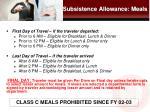 subsistence allowance meals1