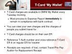 t card my wallet