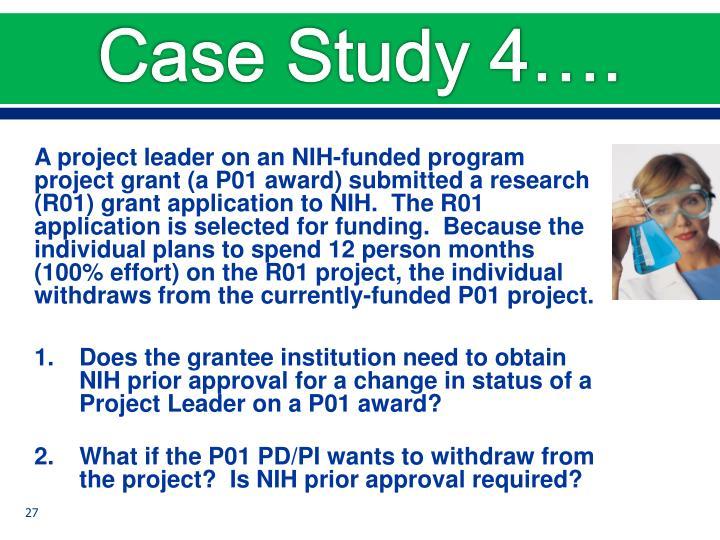 Case Study 4….