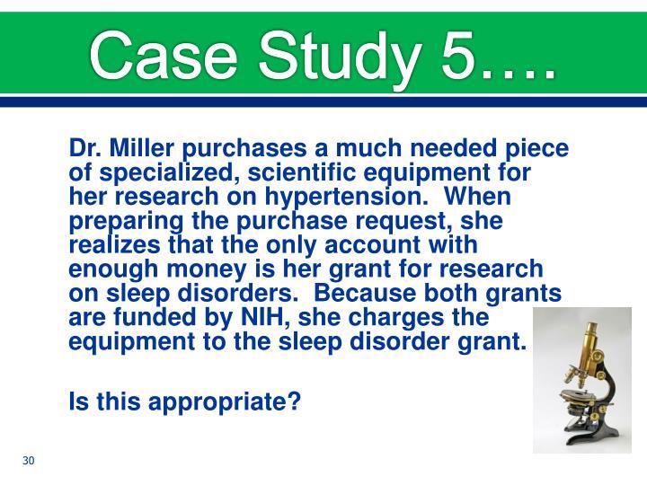 Case Study 5….