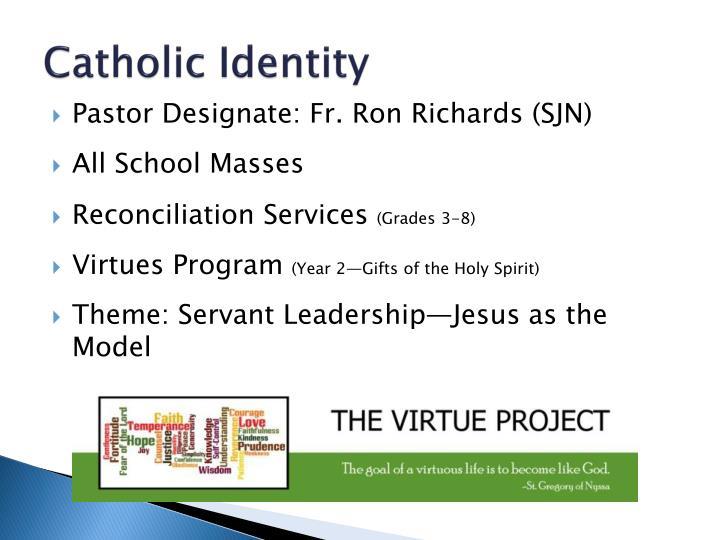 Catholic Identity