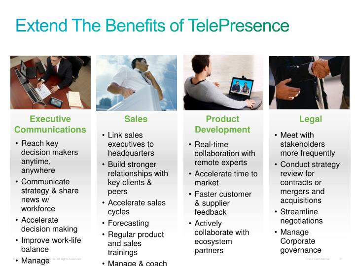 Extend The Benefits of TelePresence