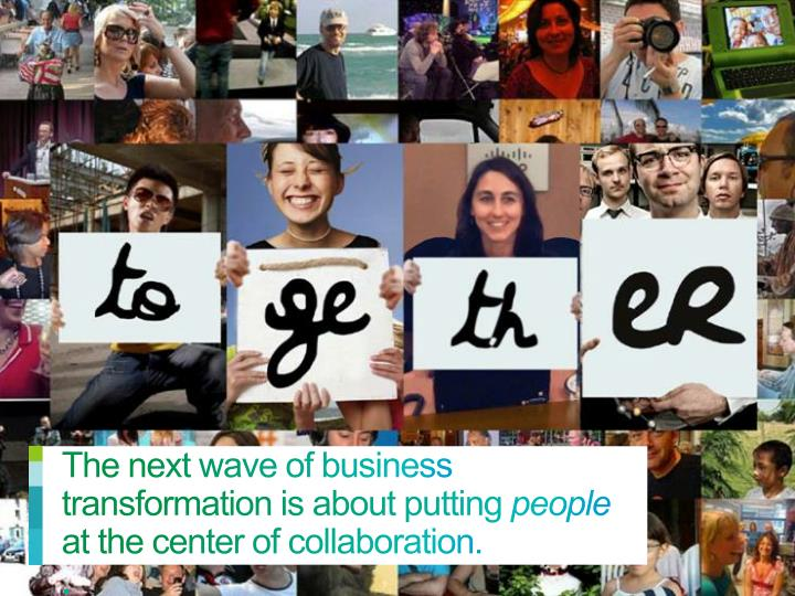 The next wave of business transformation is about putting