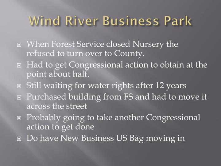 Wind River Business Park