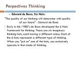 perpectives thinking
