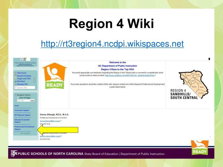 Region 4 Wiki