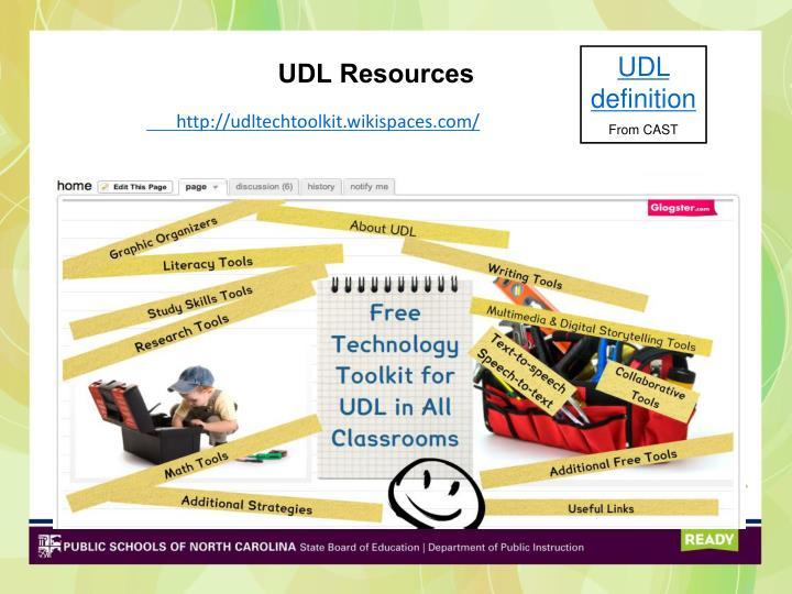UDL Resources