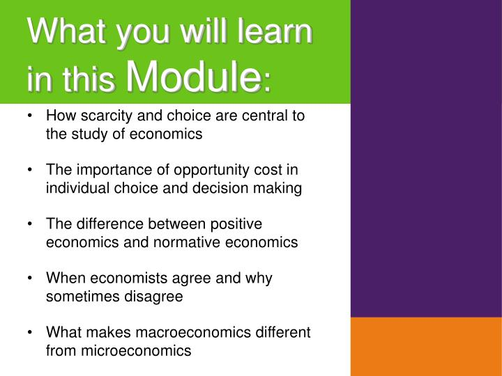 ap economics section 1 module 1 the study of economics Economics whether you're studying macroeconomics, microeconomics, or just want to understand how economies work, we can help you make sense of dollars our study guides are available online and in book form at barnesandnoblecom macroeconomics measuring the economy 1.