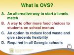 what is ovs