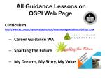 all guidance lessons on ospi web page