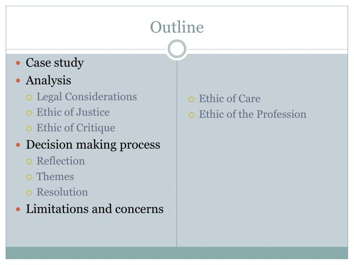 exploring the process of ethical decision