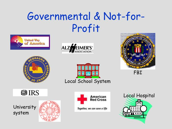 Governmental & Not-for-Profit