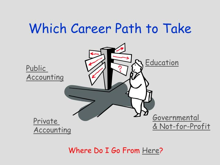 Which career path to take