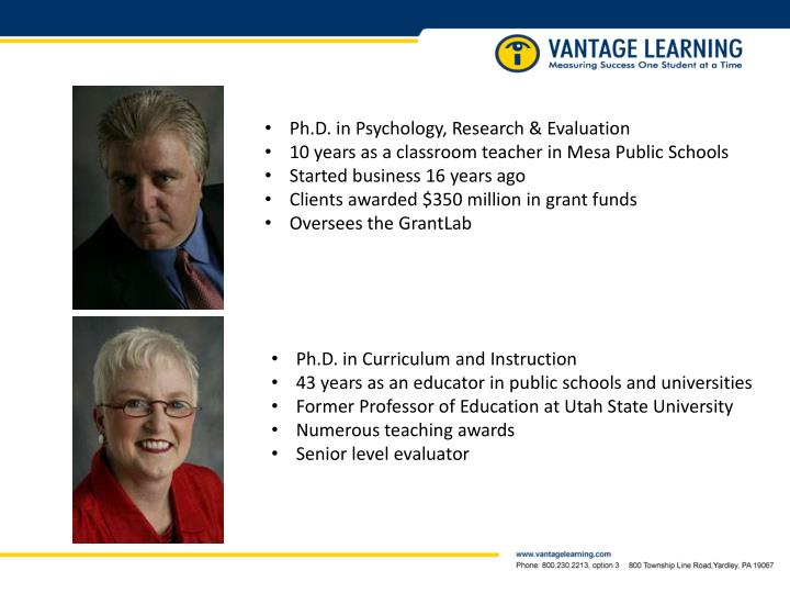 Ph.D. in Psychology, Research & Evaluation