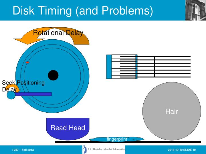 Disk Timing (and Problems)