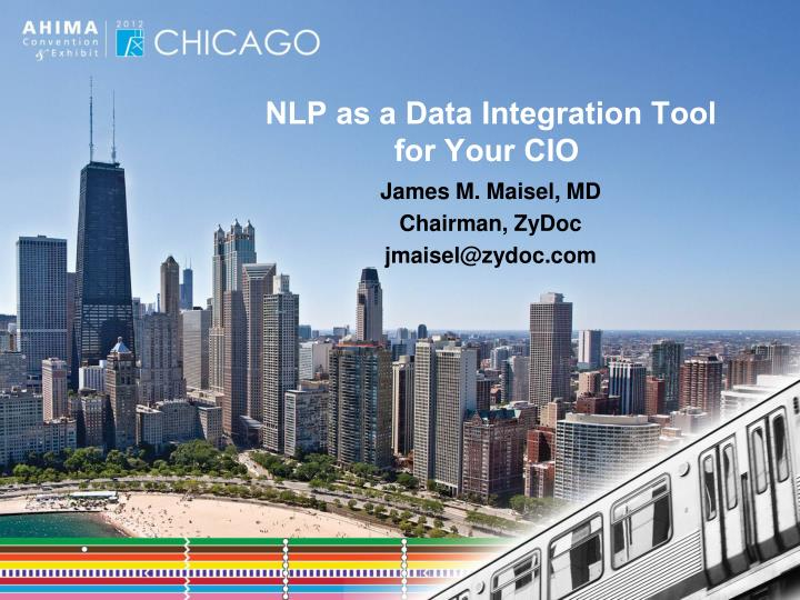 nlp as a data integration tool for your cio n.