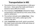transportation in ms
