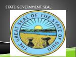 state government seal
