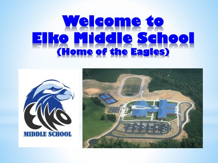 welcome to elko middle school home of the eagles n.