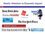 media attention to economic impact
