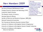 new members 2009