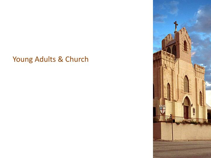 Young Adults & Church