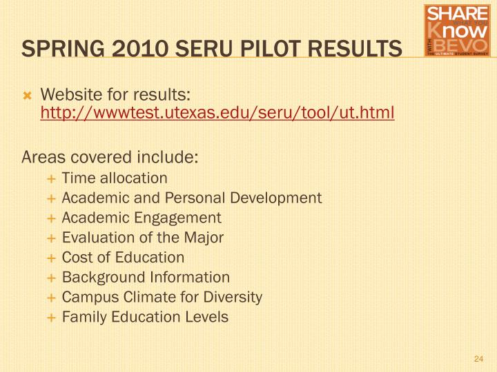 Website for results: