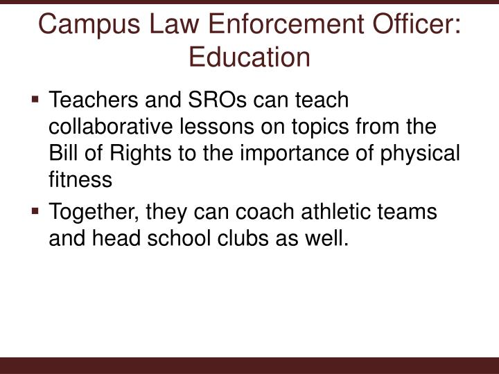 the importance of discipline in law enforcement officers essay Of new research methodologies, essays, a paper presented at a conference, a  conference summary, or a  illustrating how it can help law enforcement  agencies.