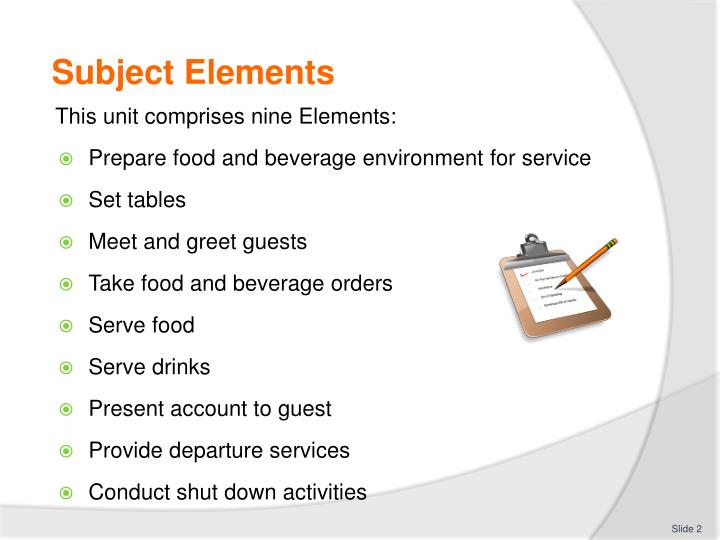 Ppt Provide Food And Beverage Services Powerpoint Presentation