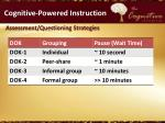 cognitive powered instruction