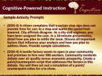 cognitive powered instruction10